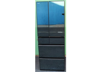 HITACHI(日立):2020年製 クリスタルミラー 6ドア冷蔵庫(567L) R-KX57K X