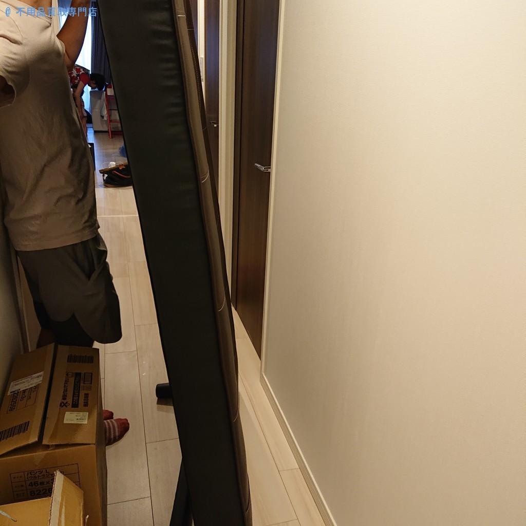 【徳島市昭和町】大型家具の処分と回収・お客様の声
