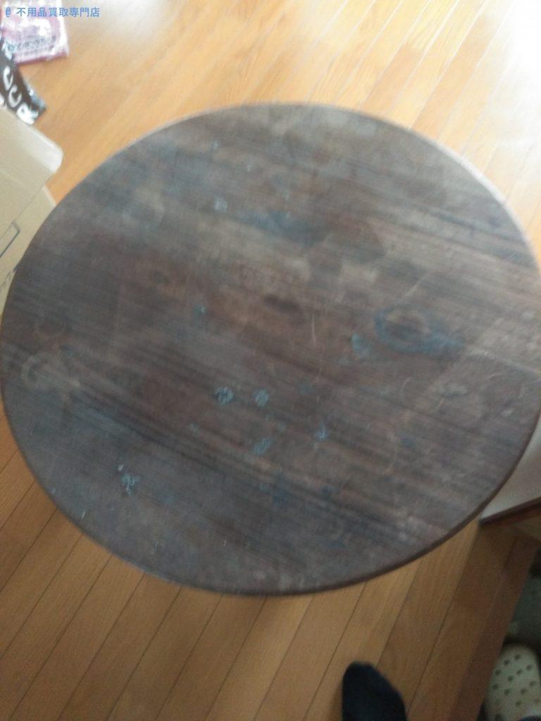 【板野郡藍住町】アンティークな卓袱台の処分と回収・お客様の声