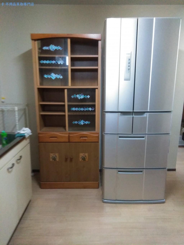【徳島市昭和町】引越しに伴う大型家具や家電製品の処分と回収
