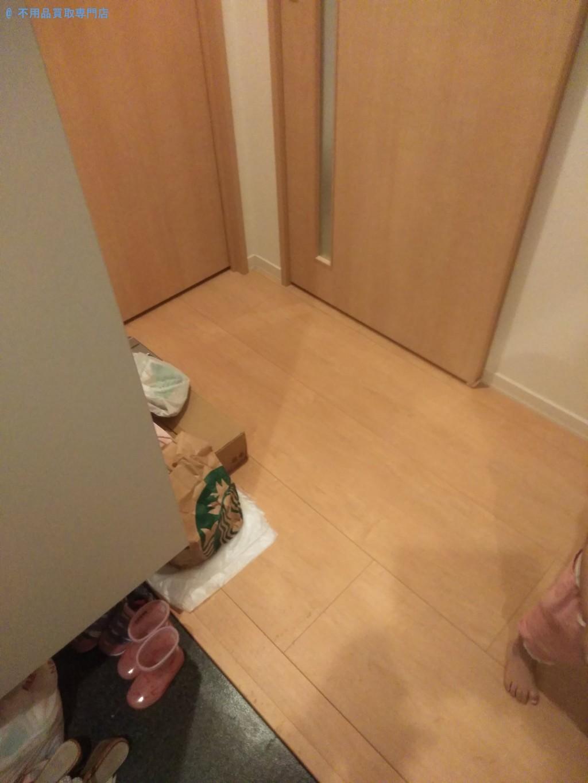 【徳島市万代町】衣装ケースやキッズテーブルなどの処分と回収