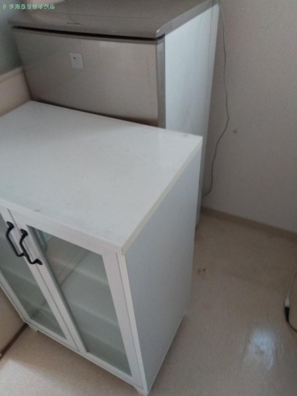 【徳島市山城西】冷蔵庫・食器棚の処分・回収のご依頼者さま