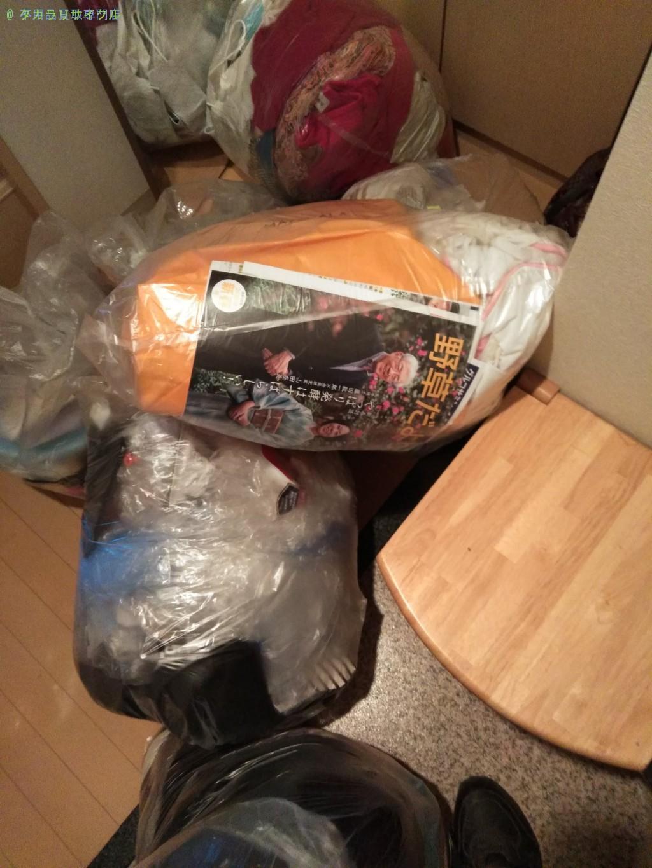 【徳島市】家庭ごみ(10~15袋)の処分・回収のご依頼者さま