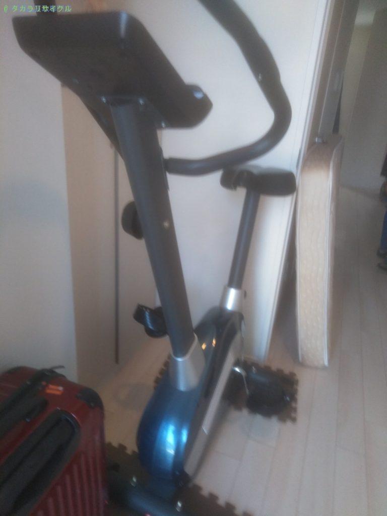 【徳島市南蔵本町】エアロバイク・スーツケースの回収のご依頼者さま